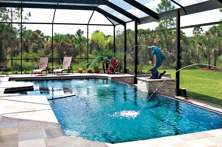 exceptional enclosed pools #2: 50+ Indoor Swimming Pool Ideas: Taking a Dip in Style | Jungle gym, Gym and  Spaces