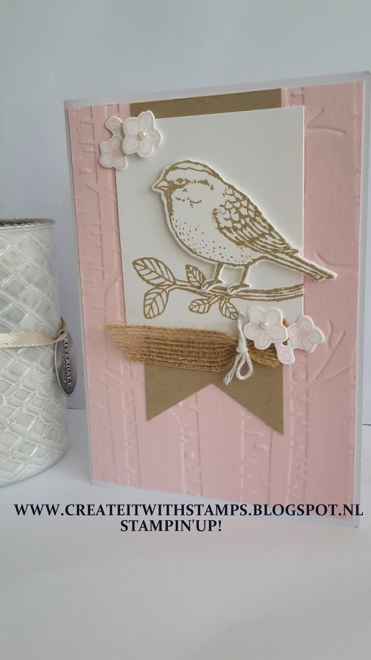 Create it with stamps! Stampin'Up! : Best Birds/Birds and blooms- Workshop
