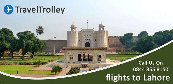 Cheap Flights tickets to Lahore Pakistan from UK at  TravelTrolley.co.uk