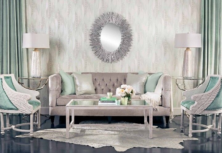 Gray Tiffany Blue Living Room S Sea Foam Teal Turquoise Design Decor Pinterest And