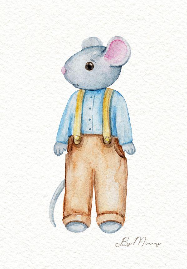 картинки мышонок в штанишках арки