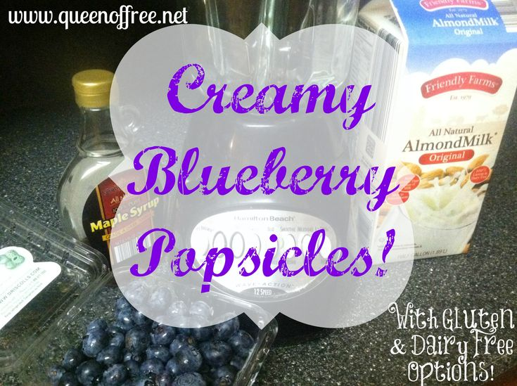 Welcome WTHR Weekend Sunrise Viewers: Budget Friendly Kids' Summertime Snacks PLUS Creamy Blueberry Popsicles!