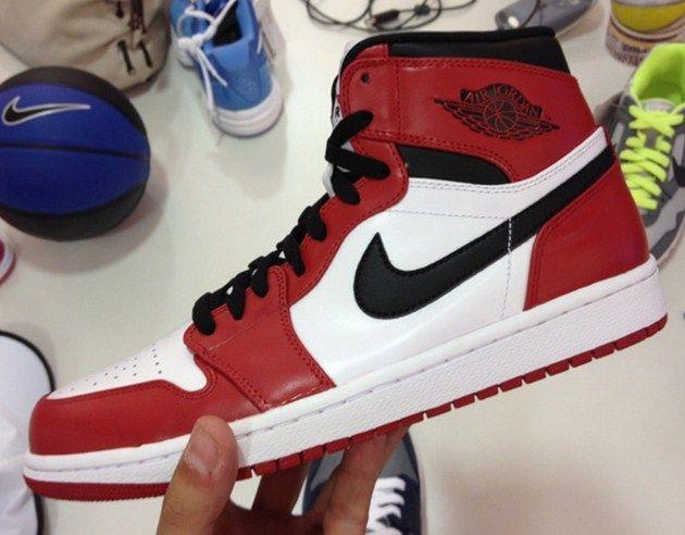 Air Jordan I - Red-White - Black