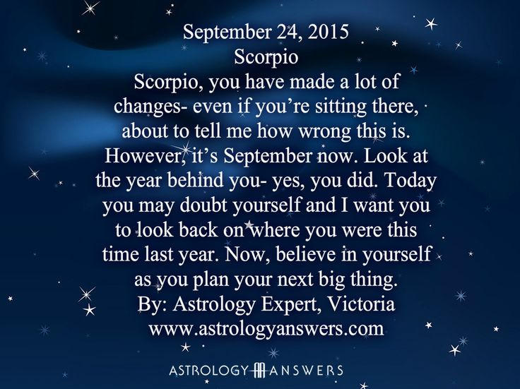 The Astrology Answers Daily Horoscope for Thursday, September 24, 2015 #astrology