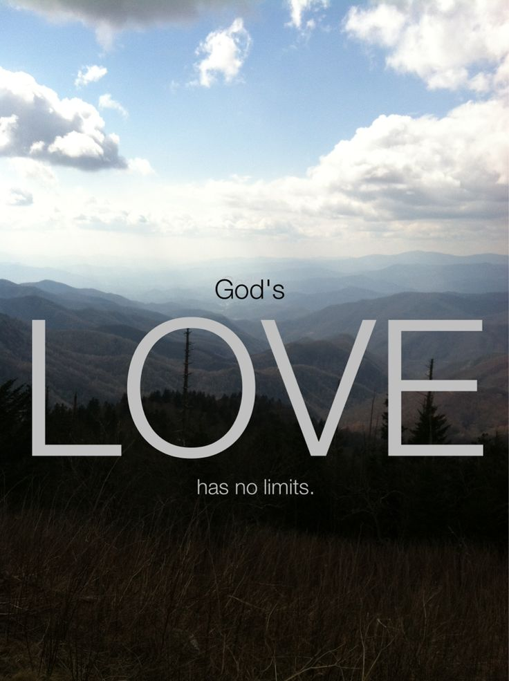 Love This Just Ideal For A Small Apartment: God's Love Has NO Limits!! :)