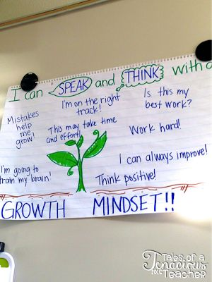 Tales of a Tenacious Teacher: Creating a Culture of Risk Takers, Great ideas for growth mindset