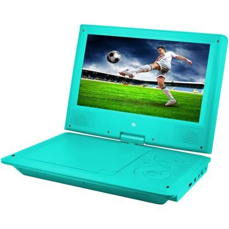 """Ematic 9"""" Portable DVD Player with Color Headphones and Carrying Bag, Bundle - Walmart.com"""