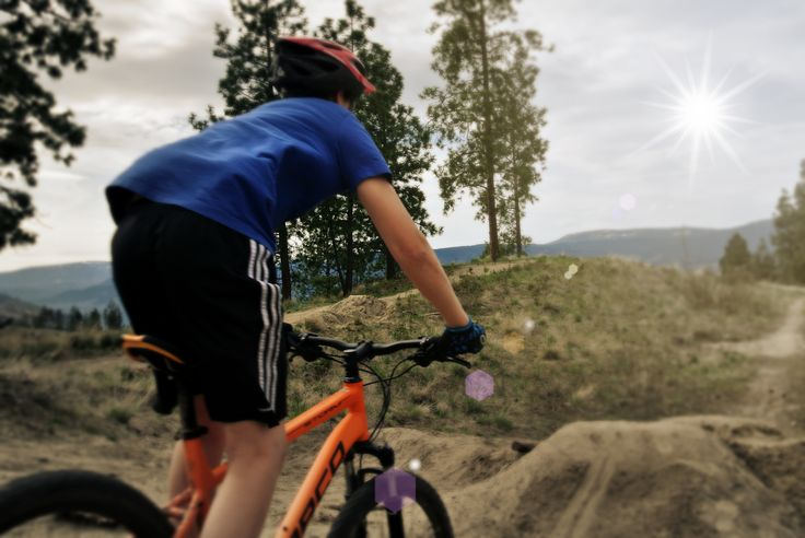 Remember to pack our bike.  There are many trails to explore in Kelowna.