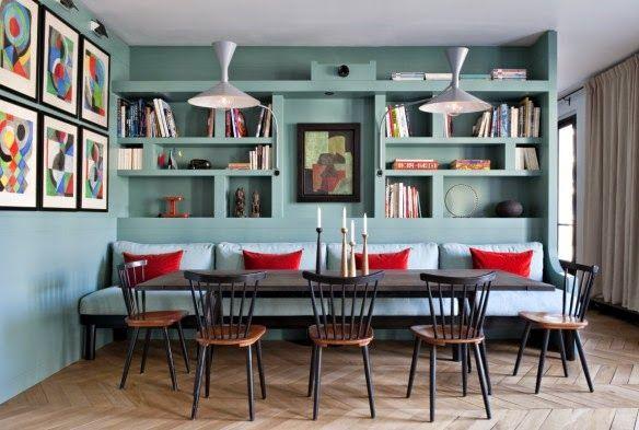 """Bb de la Branche: Appartement réalisé par l'Agence Double G - la perfection luminaires """"Marseille"""" créés par Le Corbusier réédités par Cassina à 658 €."""