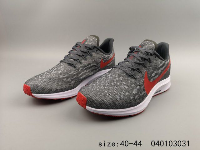 87033aee07e69 Mens Winter Nike Air Zoom Pegasus Turbo 36 Running Shoes Wolf grey  university red white