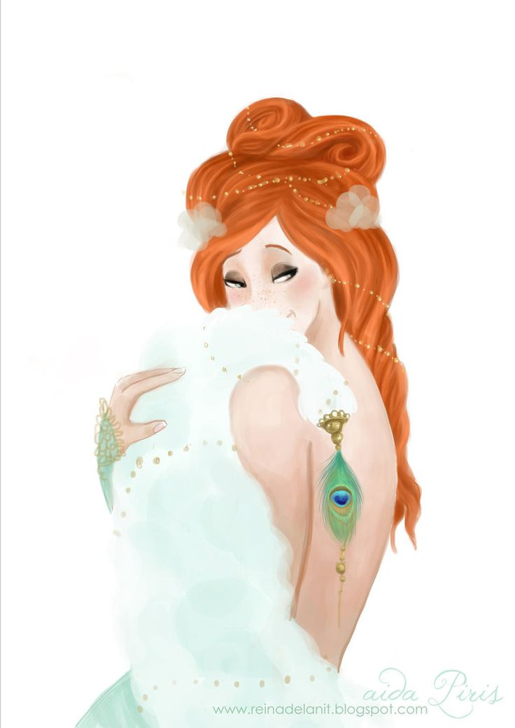 Aida Piris art. She is Giselle from Disney, in a pin up version ;)