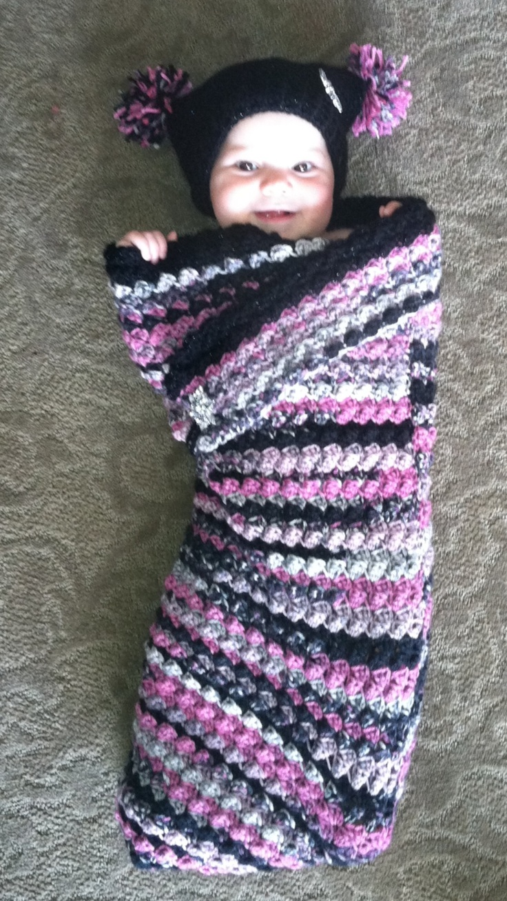 Cottage snuggle sack and hat crochet baby baby cocoon and sacks - Baby Cocoon See More Cocoon