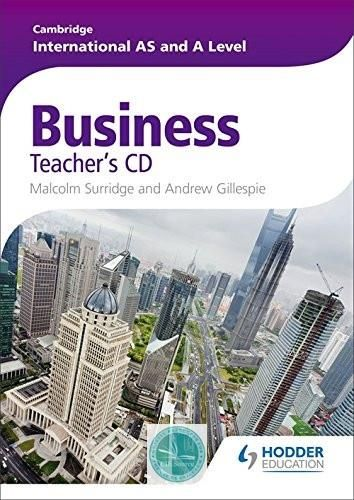 9781444181418, Cambridge International AS and A Level Business Studies Teacher CD Rom - CIE SOURCE