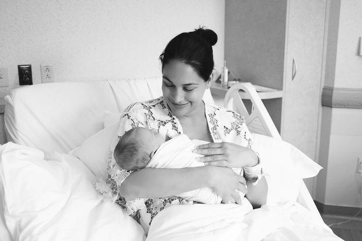 Brie Bella & New Daughter Birdie Joe Danielson