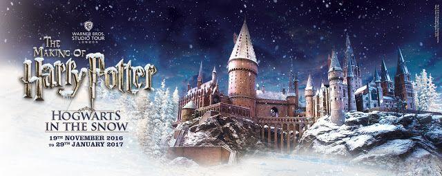 Entertaining Elliot: Hogwarts in the Snow at Warner Bros. Studio Tour L...
