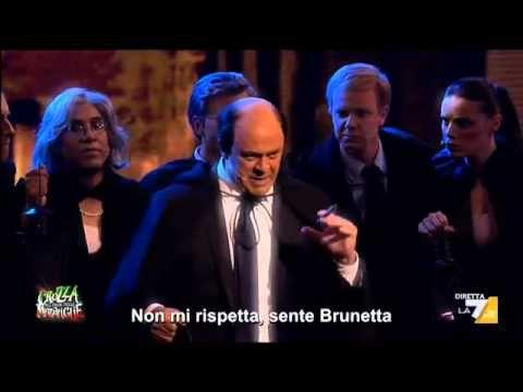 Crozza nel Paese delle Meraviglie - 'Il Bersani si Ripiglia' Canta Maurizio Crozza - YouTube