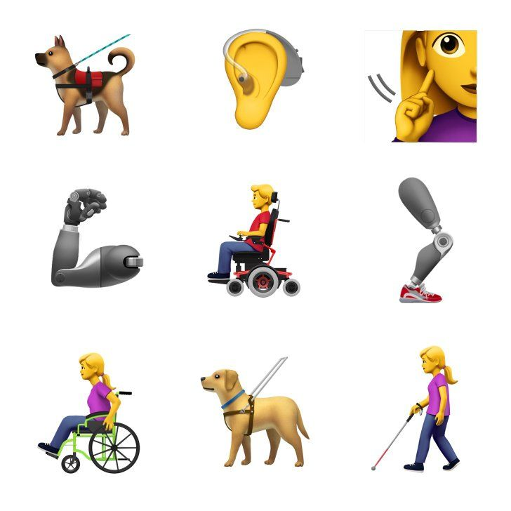 Apple Is Expanding Its Emoji Family In An Incredible And Inclusive Way Dog Emoji Emoji Guide Dog