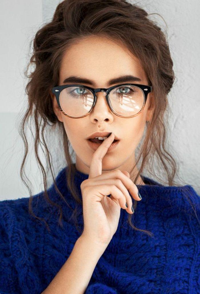 6a4dbe7c0cba2 ▷ 1001+ Idées pour des lunettes de vue femme + les looks appropriés