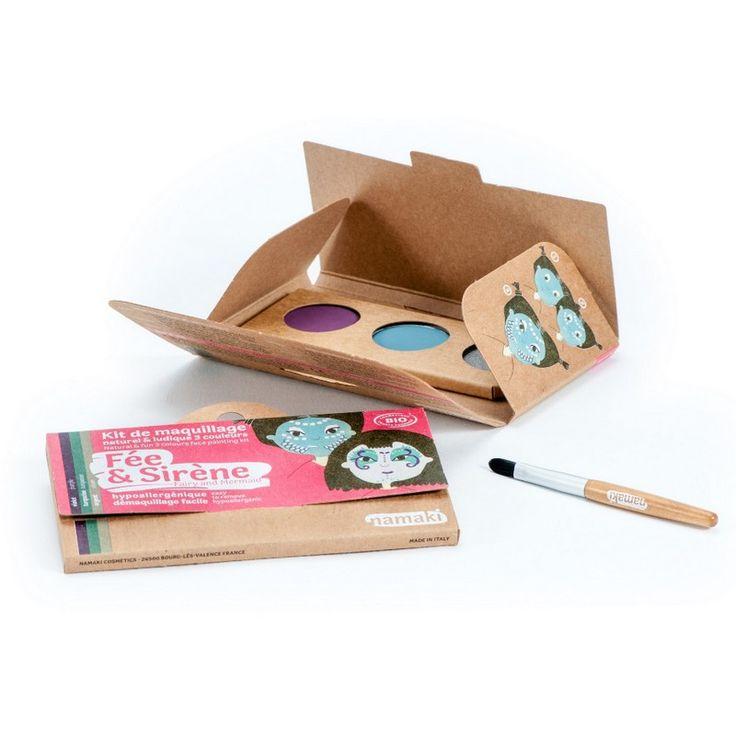Kit Maquillage Enfant 3 couleurs Fée & Sirène
