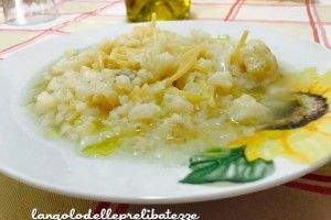 Pasta con cavolfiore minestra
