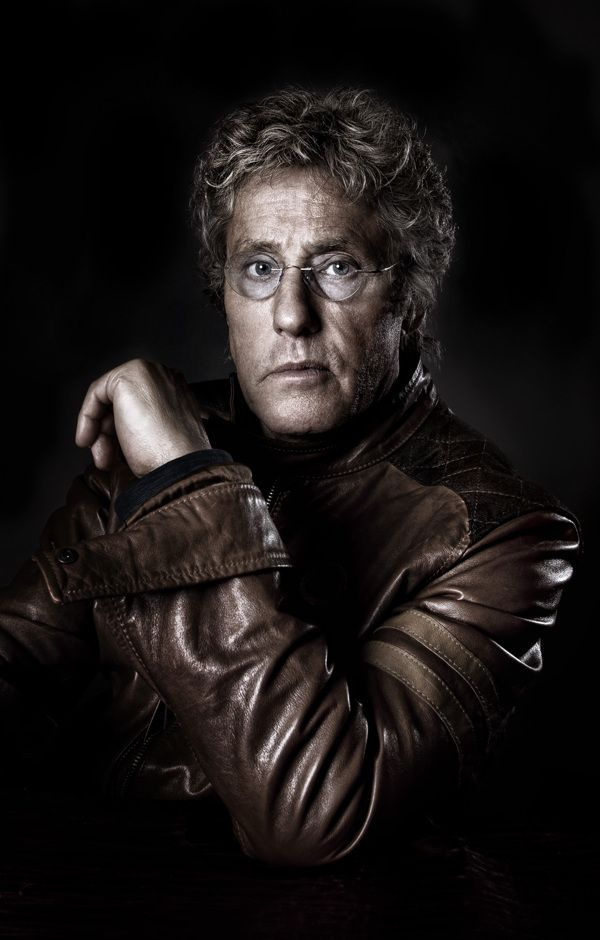 Roger Daltrey - I was lucky enough to sit next to him at a Marc Almond gig...such a lovely man!