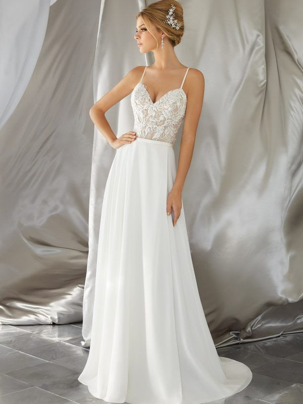 Mina Wedding Dress - Morilee | Brautkleider | Pinterest | Wedding ...