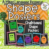 Shape Posters for the New Zealand Classroom.  These posters show the Maori name for the shapes and also has the option of English translation - you choose what suits your classroom the best