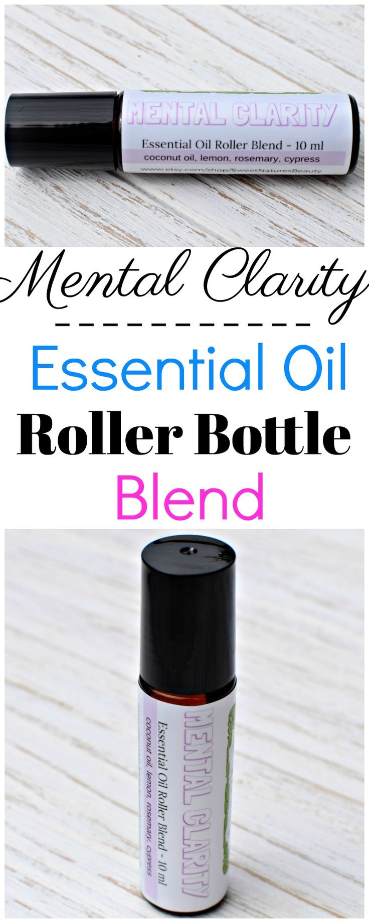 This essential oil roller bottle blend will help you find mental clarity once again. With natural calming properties and aromatherapy, you can't go wrong with this essential oil blend.