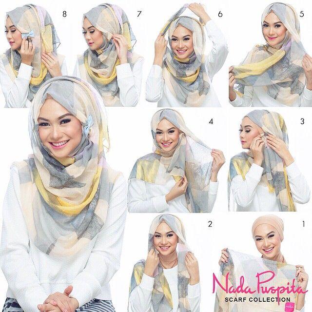 Tutorial : muslim hijab fashion:) #Selma