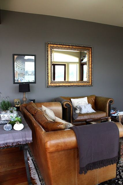 Best Leather And Grey My Sweet Savannah Back To Black Ish Pinterest Grey Walls Grey And 400 x 300