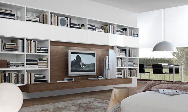beautiful ikea entertainment wall unit | 33 Modern Wall Units Decoration from Jesse