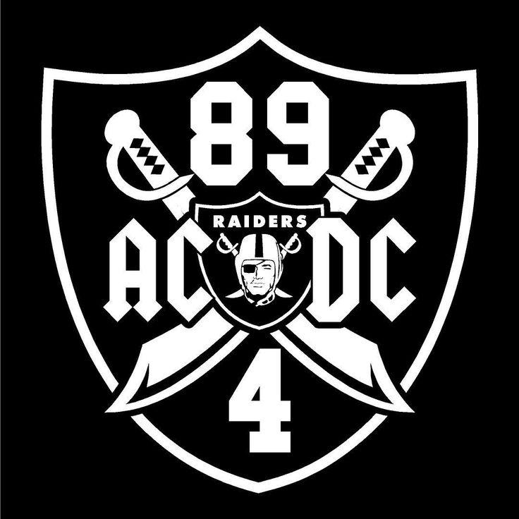 ACDC Derek Carr & Amari Cooper - Raiders 4 Life Decal/Window Sticker