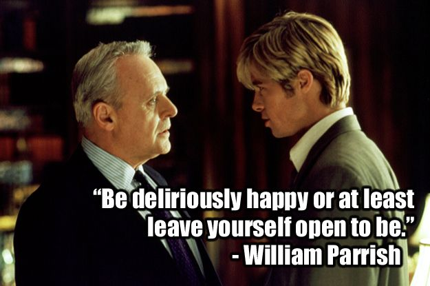 22 Of The Most Powerful Quotes Of Our Time: 17 Best Images About Devil In Disguise....Meet Joe Black
