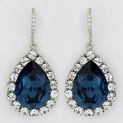 Haute Bride wedding & bridal earrings at Perfect Details.  Find gorgeous crystal earrings in Hollywood Glam styles.  Crystal & pearl couture bridal earrings with