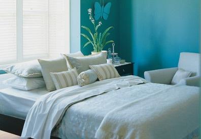 blauwe slaapkamer - Google zoeken
