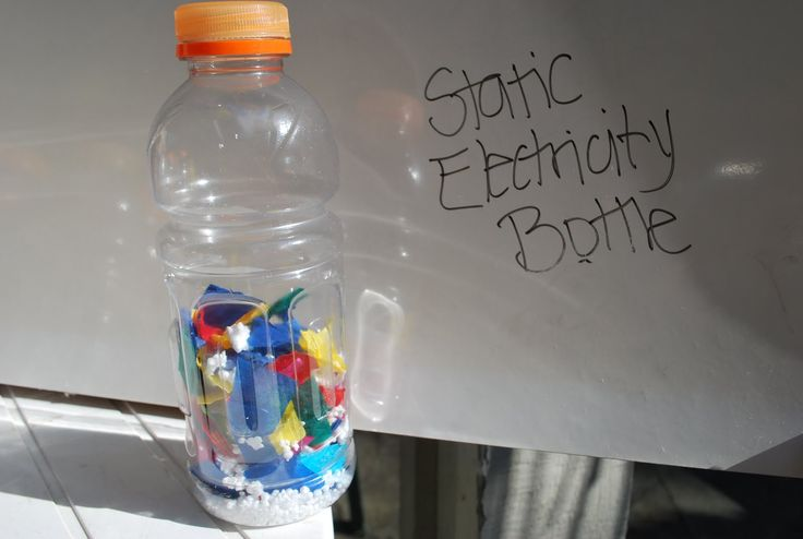 Science/ Discovery Bottles- I especially like Static Electricity and the Graduated weights
