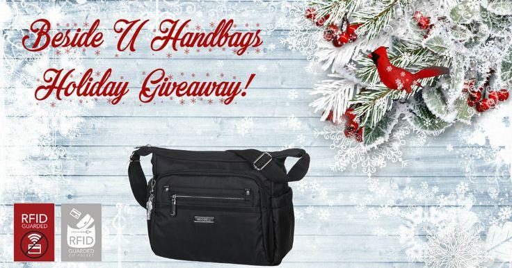 Beside-U Handbag Holiday Giveaway #RFID