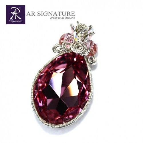 The Paladin Rose Pendant by AR Signature