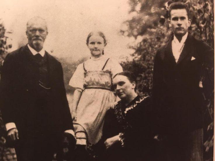 Paul, Trudi, Emilie and Carl Jung
