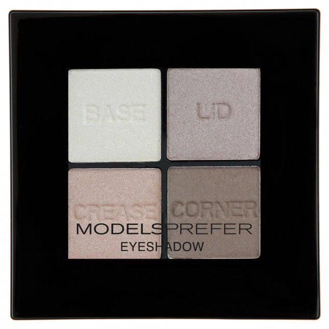 Four coordinating shades in one compact that provide the perfect balance between a matte and shimmery, texturised finish for aprofessional look.