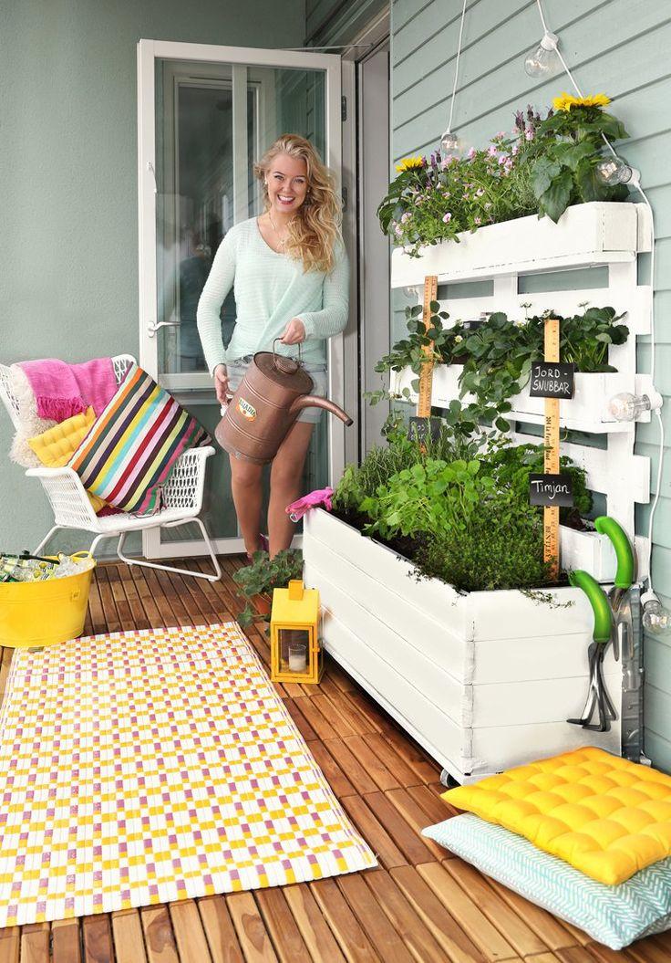 Jardin vertical au balcon – aménager sa petite oasis de verdure