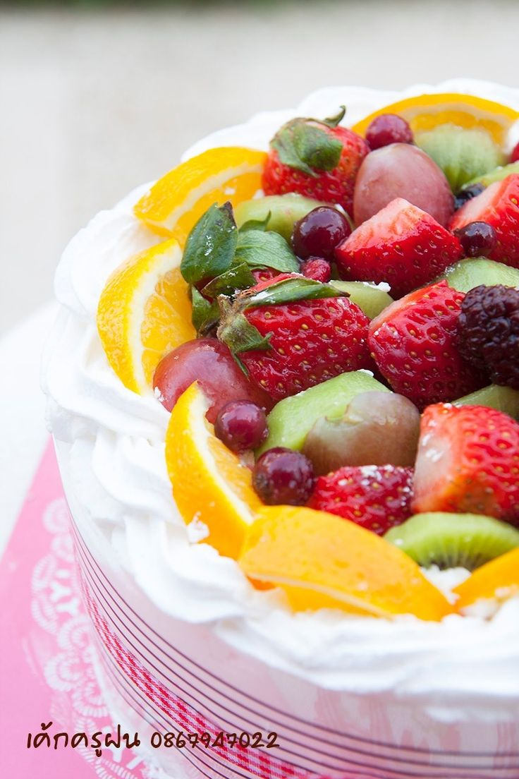 164 best images about Whipped Cream Cakes on Pinterest ...