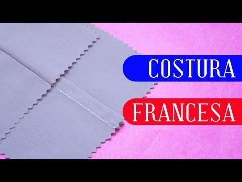 Tutorial: Costura francesa - YouTube                                                                                                                                                                                 Mais