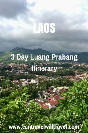 3 Day Luang Prabang Itinerary, Laos - City View