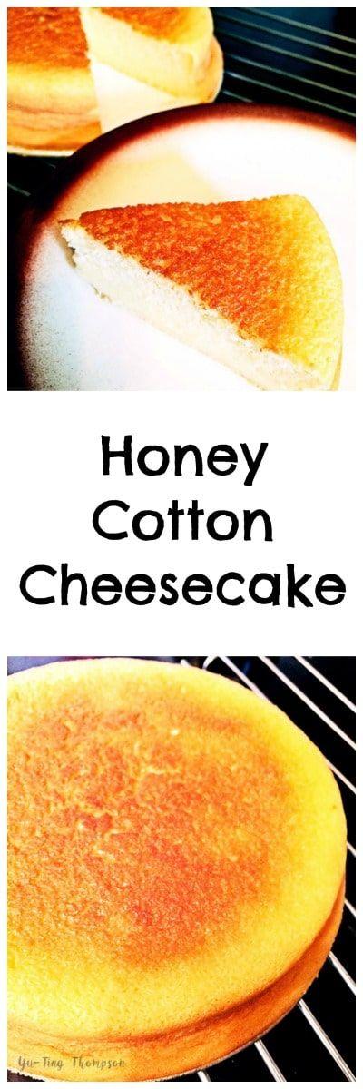 Honey Cotton Cheesecake recipe