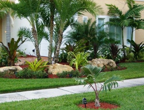 Tropical landscape by nerak c0 landscaping like the use for Landscaping rocks under trees