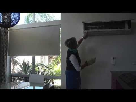 Bindy shows us how to clean your air-conditioner and filters easily and effectively with the Ha-Ra Cleaning System.