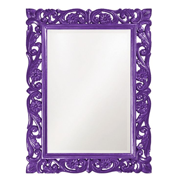 "Howard Elliott Chateau Royal Purple Mirror 31.1/2"" x 42"" x 1.3/4"""