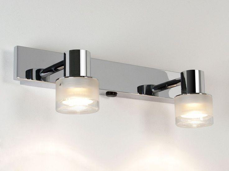 Bathroom Over Mirror Light With Shaver Socket