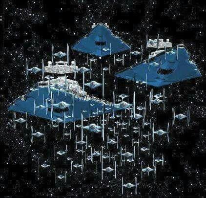 Die imperiale Flotte ist unterwegs